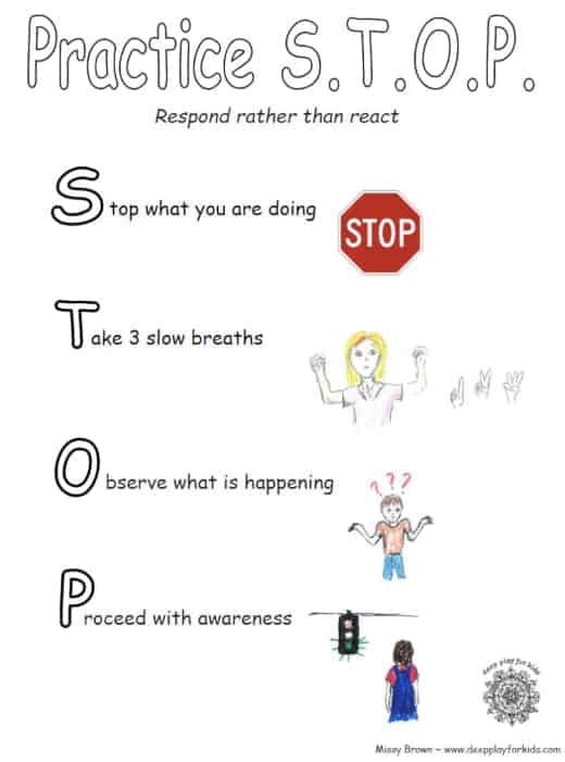 Practice STOP