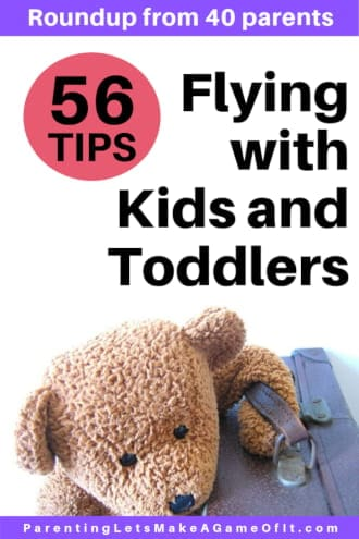 Tips flying with kids and toddlers