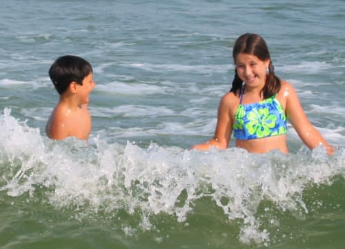 my kids in ocean are driving me crazy