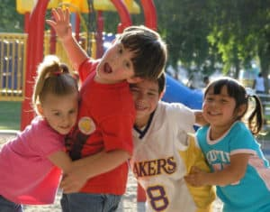 kids in playground-how to get kids to listen and follow directions