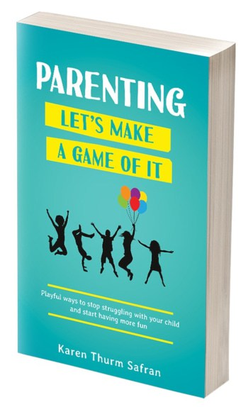 Book cover on making parenting a game